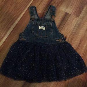 Osh-kosh overall dress